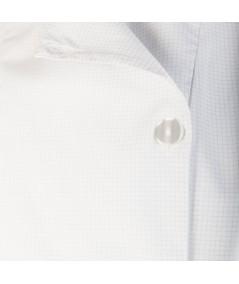 Blouse d'horloger Latitude Antistatique. Fermeture réglable à boutons plats.