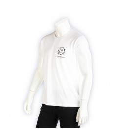 T-shirt Coton La Cie Des Horlogers uni blanc en coton unisexe.